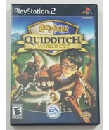 Harry Potter Quidditch World Cup PS2 Game 2003 EA Games Playstation 2 - $9.49