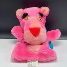 Pink Panther plush hand puppet 1980 mighty star stuffed animal retro pop... - $23.76
