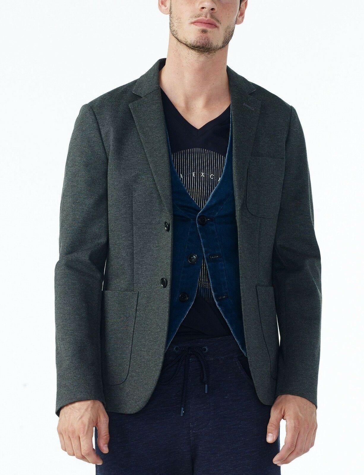 Armani Exchange Authentic Essential Ponte Blazer Gray NWT - $59.99