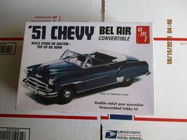 AMT 1951 Chevy Bel Air Convertible 1/25 scale - $28.99