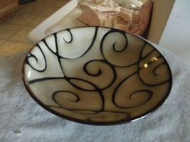 Pfaltzgraff Black Scroll soup bowl 2 available - $9.50