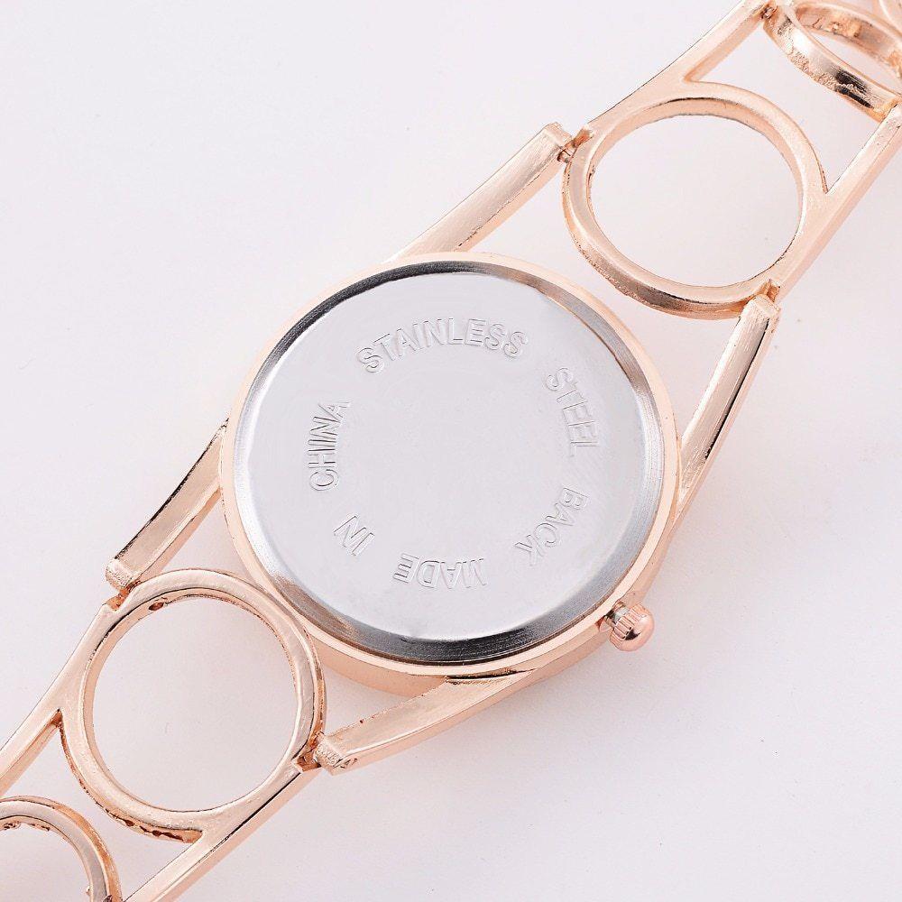 Lvpai® Fashion Creative Women Watch Designer Strap Stainless Steel Wristwatch