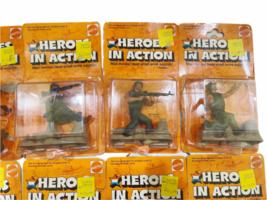 Lot (12) NOS Vintage 1974 Mattel Heroes in Action Card Figure Sealed Package image 3