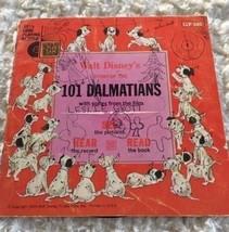101 DALMATIANS Walt Disney Songs Record and Book 1965 Vintage LLP 305 - $4.50