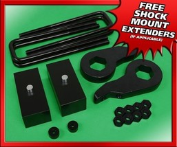 "For 88-99 Chevy GMC K1500 4WD Forged 1-3"" Front + 1"" Rear Leveling Lift Kit - $137.70"