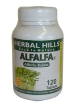 Alfalfa 120 Tablets BUY ONE GET ONE FREE BY HERBAL HILLS - $22.62