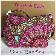 Nwt Vera Bradley Resort Medallion On The Go Crossbody Bag Handbag - $38.99