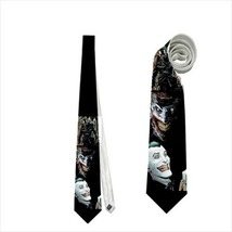 Necktie joker supervillain geek nerd prom groomsmen tie cool costume accessory image 1