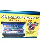 Superspeedway Racing Lamp Cars Race Across Novelty Light NEW - $29.01