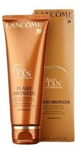 Lancome FLASH BRONZER Self Tanning Gel Medium Bronze TAN LEGS Skin 4.2oz... - $41.83