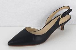 Nine West Ilaria women's shoes leather upper blue buckle medium high siz... - $16.69