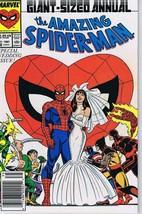 Amazing Spiderman Annual #21 ORIGINAL Vintage 1987 Marvel Comics Wedding - $59.39
