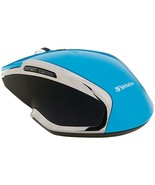 Verbatim 99016 Wireless Notebook 6-Button Deluxe Blue LED Mouse (Blue) - $34.34