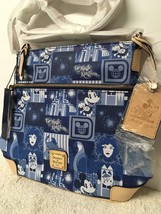 Disney Magic Kingdom 45th Anniversary Leather Letter Bag by Dooney and B... - $217.79