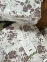 Pottery Barn Aliya Sheet Set Warm Blush King Floral Cottage Chic Farmhouse 4pc