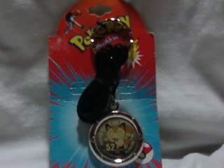 Pokemon Meowth Keychain * 1999 NEW * Anime