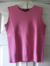DKNY Pink Cashmere Shell (S) - $54.99