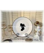 Victorian Decorative Silhouette Plate - $13.95