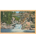 The Pool and the Flume & Sentinel Pine Bridge, Franconia Notch, White Mt... - $7.99