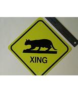 MINI MINIATURE CAT TRAFFIC SIGNS - $5.00