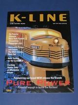 1997 K LINE TOY FAIR CATALOG - $5.50
