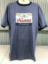 Hamms Hamm's Beer Sky Blue Water Minnesota Retro XL T-Shirt - $17.02