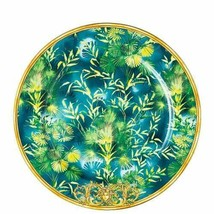 "Versace by Rosenthal Jungle Service Plate 30 cm /11.8"" Set of 4 USED FOR EXPO - $1,016.35"