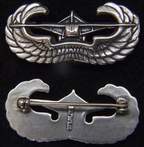 WWII Glider Assault Combat Badge Sterling Pin back         - $39.00