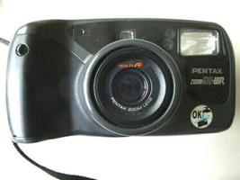 Pentax Zoom 90 WR Point and Shoot Film Camera Working With Case & Strap -H6 - $36.58