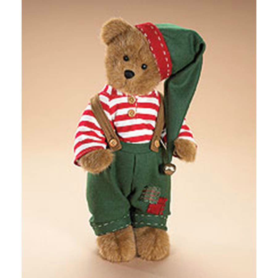 "Boyds Bears ""ALVIN ELFKIN""- 14""  Plush Bear  #904832- NWT- 2008- Retired - $39.99"
