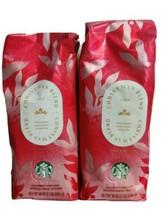 2 Starbucks Christmas Blend Dark Roast Whole Bean Coffee 1lb each  EXP 07/2021 - $13.99