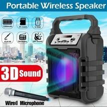 Portable Bluetooth Speaker Portable Wireless Loudspeaker Sound System 5W... - $75.72 CAD