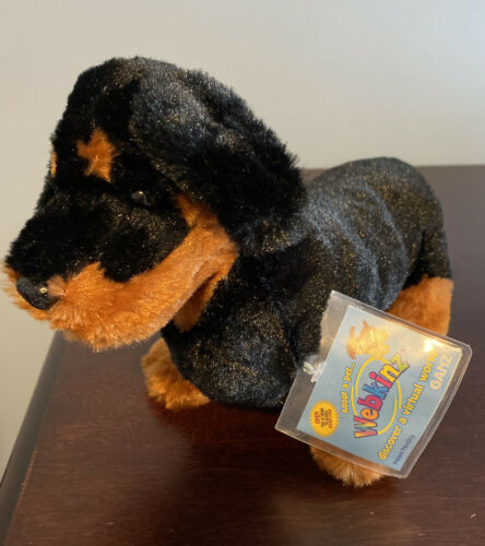Primary image for NEW WEBKINZ Dachshund HM345 Ganz Sealed Unused Code