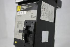 Square D 40A Circuit Breaker FA26040AC 600V AC CAAR 2 Pole new - $249.95