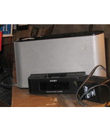 Sony ICF-C1IPMK2 Speaker System and Clock Radio with iPod Dock - $60.38