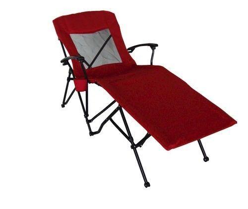 Guidesman Patio Pool Camp Folding Portable Quad Lounger