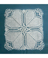 Handmade Doily With Heart Motif - $5.00