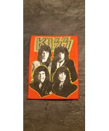 VINTAGE ROCK GROUP KISS FABRIC WALL HANGING PAUL STANLEY GENE SIMMONS ER... - $400.00