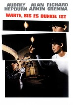 Wait Until Dark Movie Poster 27 X40 In Audrey Hepburn 69 X101 Cm Rare German - $34.99