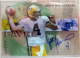2002 Topps Pristine Autografi # Pbf Brett Favre C - $150.03