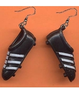 TRACK SHOES EARRINGS-Soccer Baseball Football Athletic Cleats Gym Sports Jewelry - $6.97