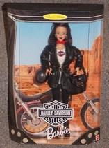1998 Harley Davidson Barbie Doll New In The Box - $49.99