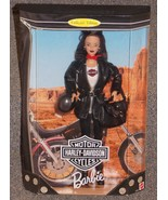1998 Harley Davidson Barbie Doll New In The Box - $49.99