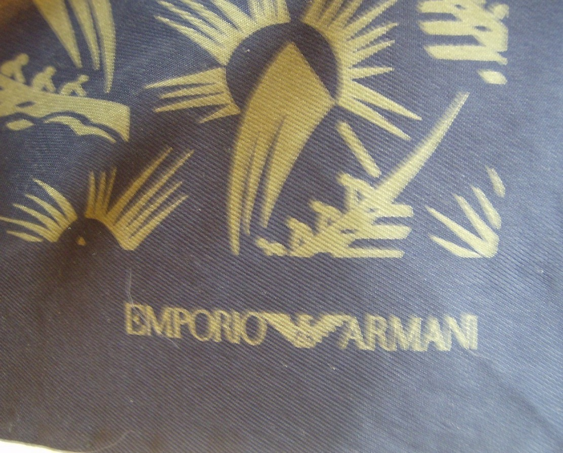 Vintage Authentic EMPORIO ARMANI Scarf