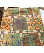 Set of 2 Decorative Zippered Pillow Shams- Mediterranean Style #5036 - $12.99