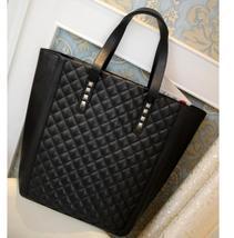 2013 new high grade hand bag rhombus PU cotton bag with large capacity a... - $20.00