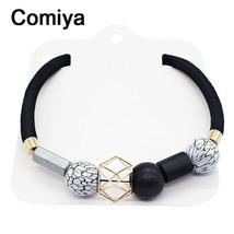 Comiya Ethnic Bohemian Black Vintage Choker Resin Wood Beads Necklaces P... - $15.66
