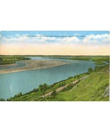 Three state view from War Eagle Grave, Sioux City, Iowa, unused Postcard  - $3.50