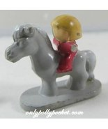 1991 Polly Pocket Dolls Dream World Pony / Horse with Rider - $5.00