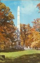 Tippecanoe Battle Ground Monument, unused Postcard  - $4.99